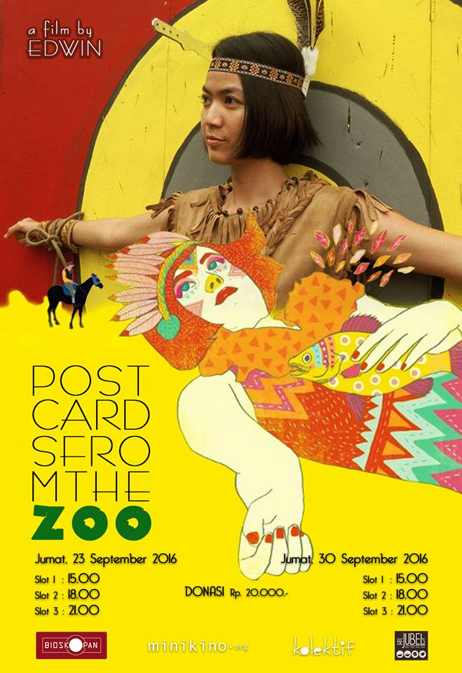 Bioskopan-POSTCARD-FROM THE ZOO